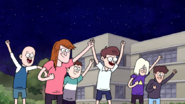 S7E21.292 The Students Cheering for Team Rigby