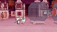 S4E31.172 Mordecai Punches the Country Club Leader Off Them