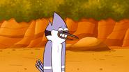 S6E15.258 Mordecai's Awkward Cheesy Smile