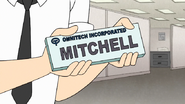 S7E25.112 Mitchell Name Plate