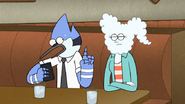 S6E25.041 Mordecai Trying to Cancel the Double Date