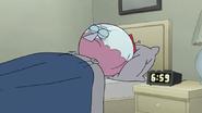 S7E19.057 Benson Going to Sleep