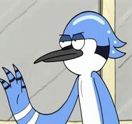 Mordecai Slicked Back Hair