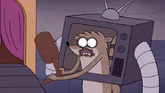 S7E09.346 Rigby Pulled Off Mordecai's Foot
