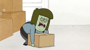 S4E30.005 Muscle Man Struggling to Lift the Box