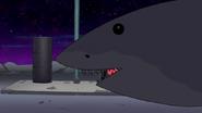 S8E19.036 Shark Appearing Behind Benson