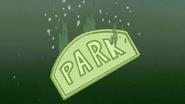 S5E20.134 Park Sign Underwater