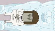 S6E05.121 Muscle Man Resting Peacefully