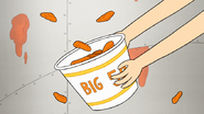 S7E32.175 Pam Grabbing the Big 50 Bucket