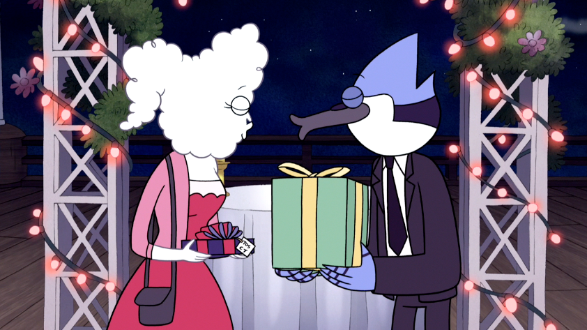 Regular show kiss cartoon season 3