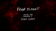 S8E19 Fear Planet Title Card