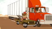 S4E27.213 Football Helmet Guy Tries to Get on the Truck