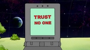 S8E02.001 Trust No One Message