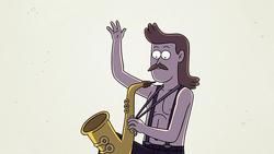 Sad sax guy