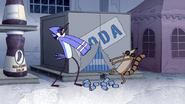S4E36.190 Mordecai and Rigby Getting Some Sodas