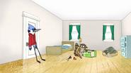 S6E10.070 Mordecai Returns Back to His Room