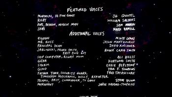 M01 Regular Show Movie Credits