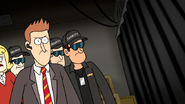 S7E17.195 Security Guard with a Brand Logo