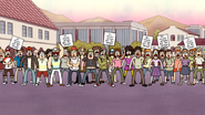 S5E01.150 Vegan Protesters