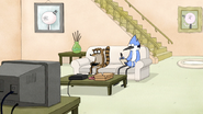 S5E01.055 Mordecai Working on the Letter