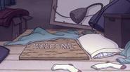 Doug's bed