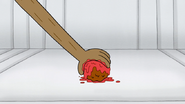 S4E21.021 Rigby Grabbing His Meatball