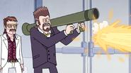 S4E36.226 Vince Firing a Rocket Launcher
