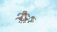 S7E01.162 Bum Mordecai and Rigby Flying Up