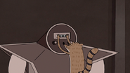 S4E30.103 Rigby Putting in the 8-Track Tape