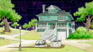 S8E01.260 Park Bros Landing in Front of the House