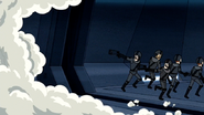 M01.031 Evil Soldiers Retreating