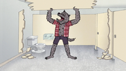S7E09.142 Wolfhard Removing the Stall Wall