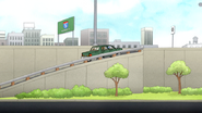 S4E13.086 Sensai Driving Onto the Freeway