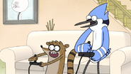 S6E19.019 Mordecai and Rigby About to Beat the Final Boss