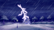 S6E04.269 Lightning Striking the House