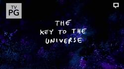 RS The Key to the Universe Title Card
