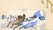 S7E11.038 Mordecai and Rigby at the End of the Marathon