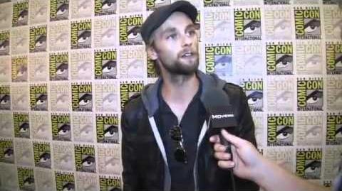 Exclusive! Joe Anderson Interview @ Comic Con 2011
