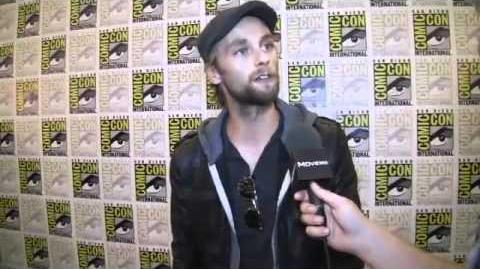 Exclusive! Joe Anderson Interview @ Comic Con 2011