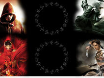 DemonCycle 4book background theme
