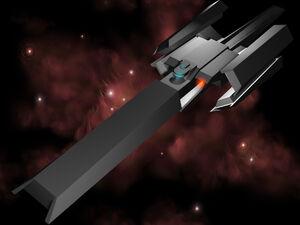 Raider Cruiser Front by FatalPapercut