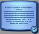 Load Game Error