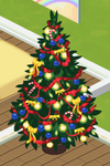 Red Decorated Tree 5