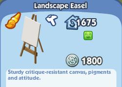 Landscape Easel