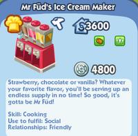 Mr Füd's Ice Cream Maker