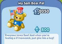 MySamBearPal
