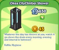 Okea CityClimber Shower
