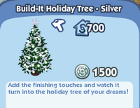 Build-It Holiday Tree - Silver