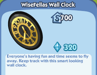 Wisefellas wall clock