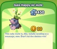 GaiaHappyMrMole